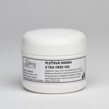 Pleťová maska s TEA TREE OIL