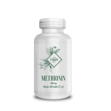 METHIONIN 500mg 100 tablet